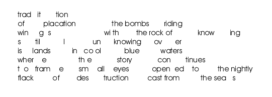 tradition of bombs